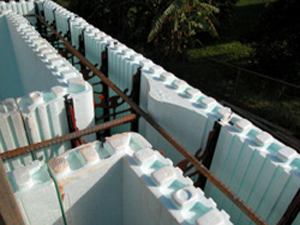 Insulated concrete forms natural building solutions for Icf foam block